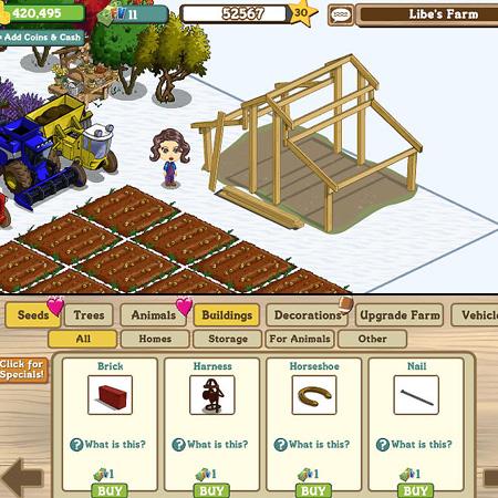 Farmville facebook costruire una stalla per cavalli il for Farmville horse