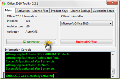 crack office 2010 licenza thumb Come Attivare Office 2010, crack e procedura passo per passo