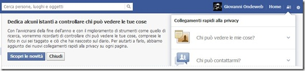 privacyfacebook thumb Novità Facebook per gestire la privacy