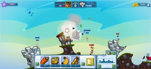 gioco worms facebook 490x225 Il gioco Worms arriva su Facebook