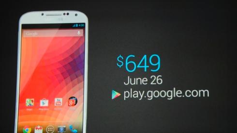 Samsung Galaxy S4 Google Edition (i9505)