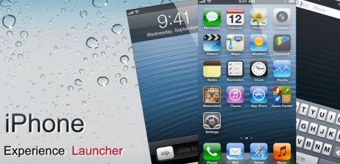 iPhone 5 Launcher 490x237 Trasforma il tuo Android in un iPhone