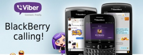 Viber per BlackBerry