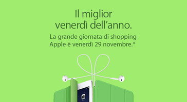 Offerte e Sconti Apple - Black Friday 2013