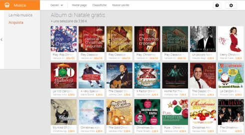 Playlist Musica Natale