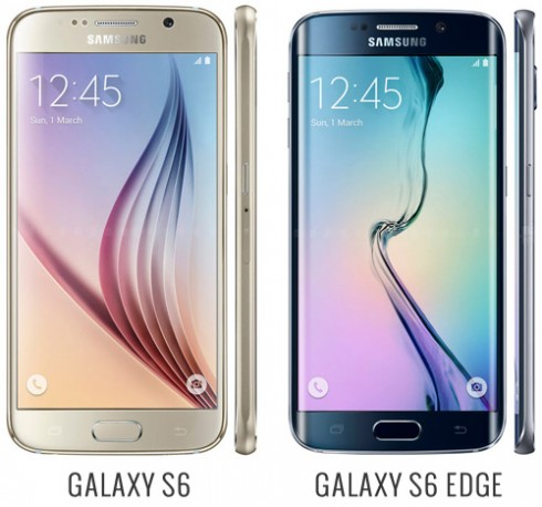 Samsung galaxy s6 vs s6 edge plus