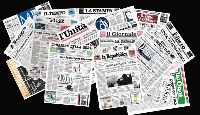 Le-prime-pagine-dei-quotidiani
